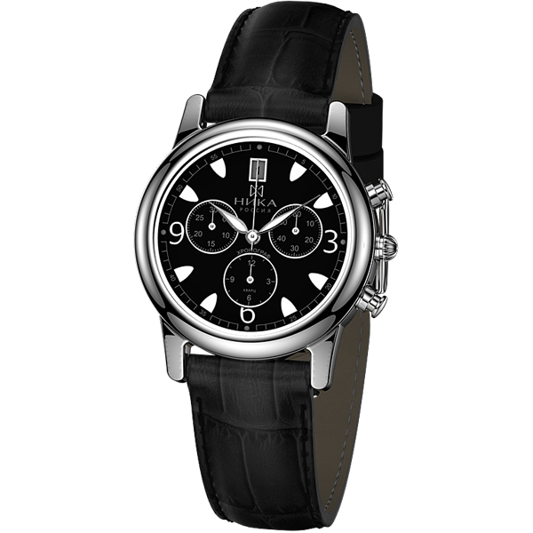b327e2423f45 Купить Мужские серебряные часы НИКА